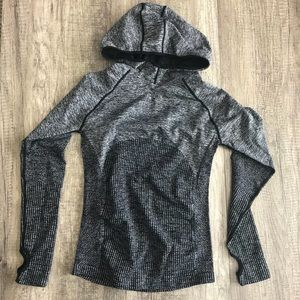 NWOT Fabletics fitted hoodie top